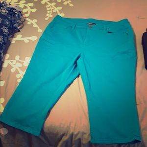Lane Bryant Pedal Pants. Size 18 but fits like 14